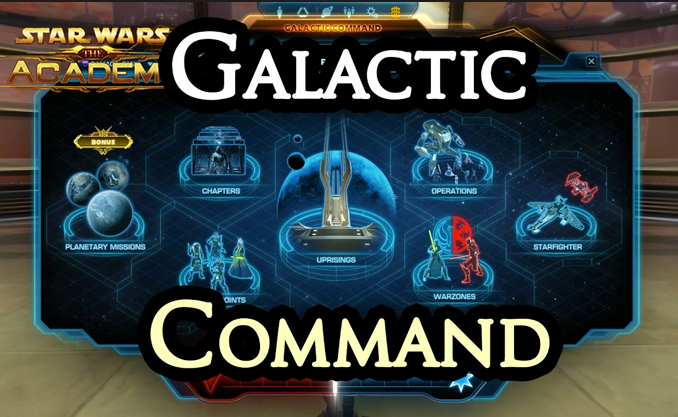 SWTOR Commond points